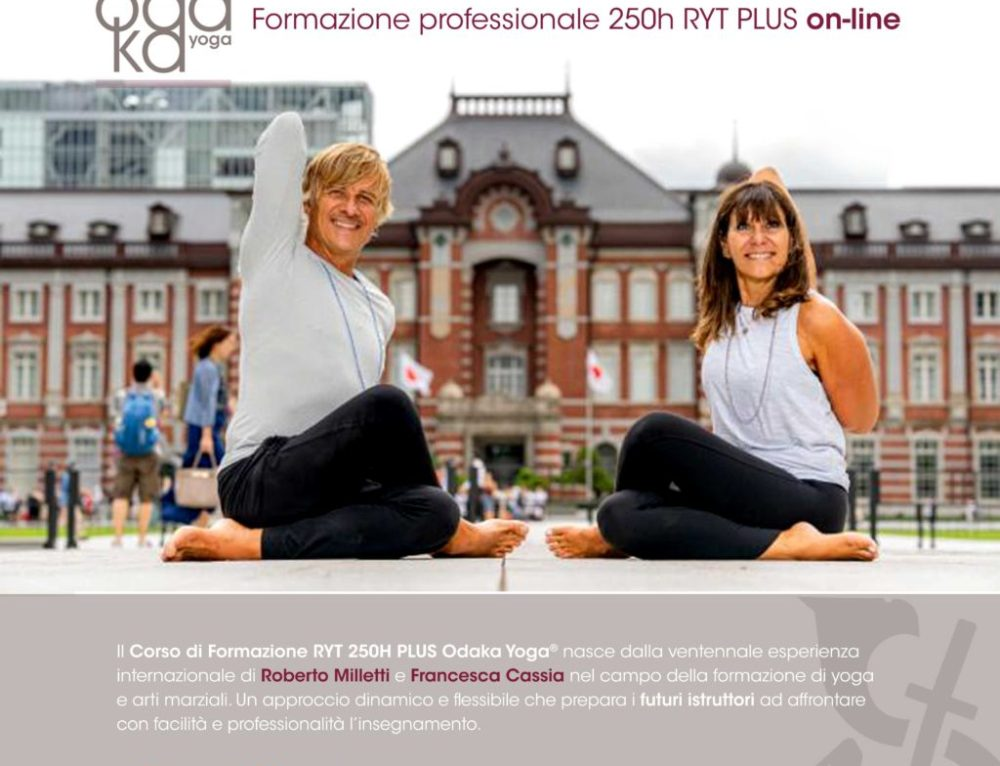 NEW! Teacher Training 250h RYT PLUS ON-LINE 2020-2021