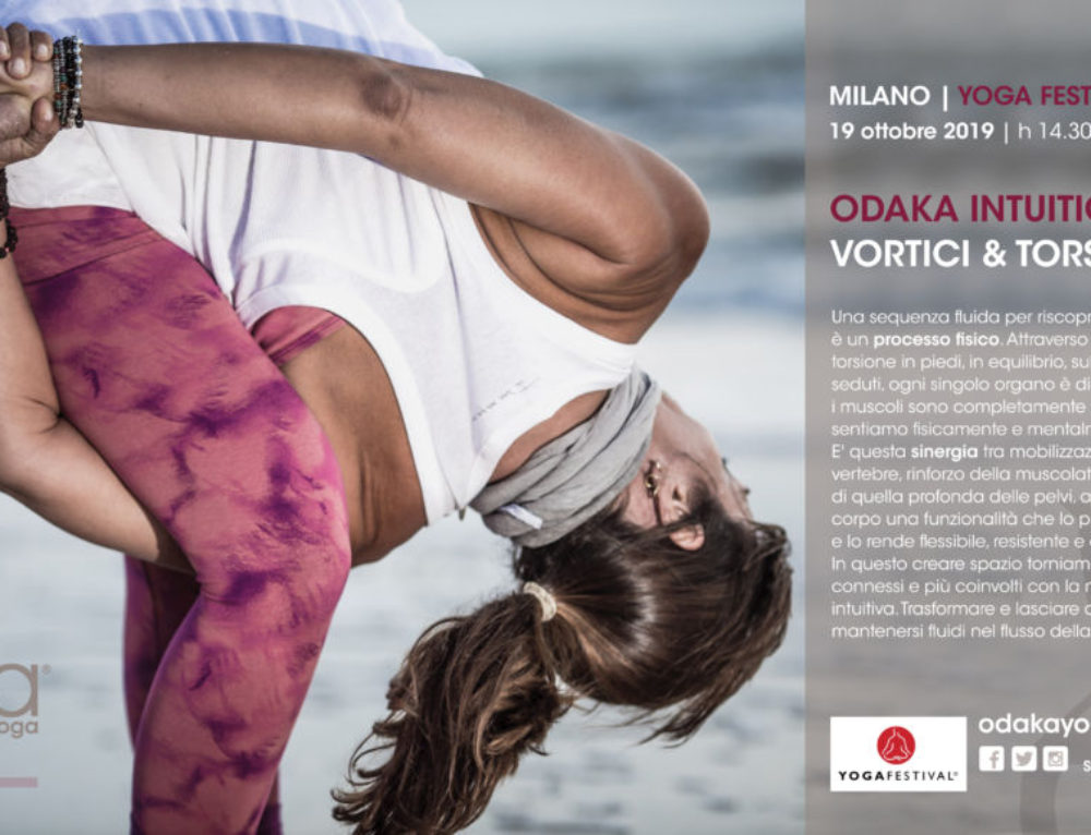 Milan – Italy | YOGA FESTIVAL | October 19, 2019