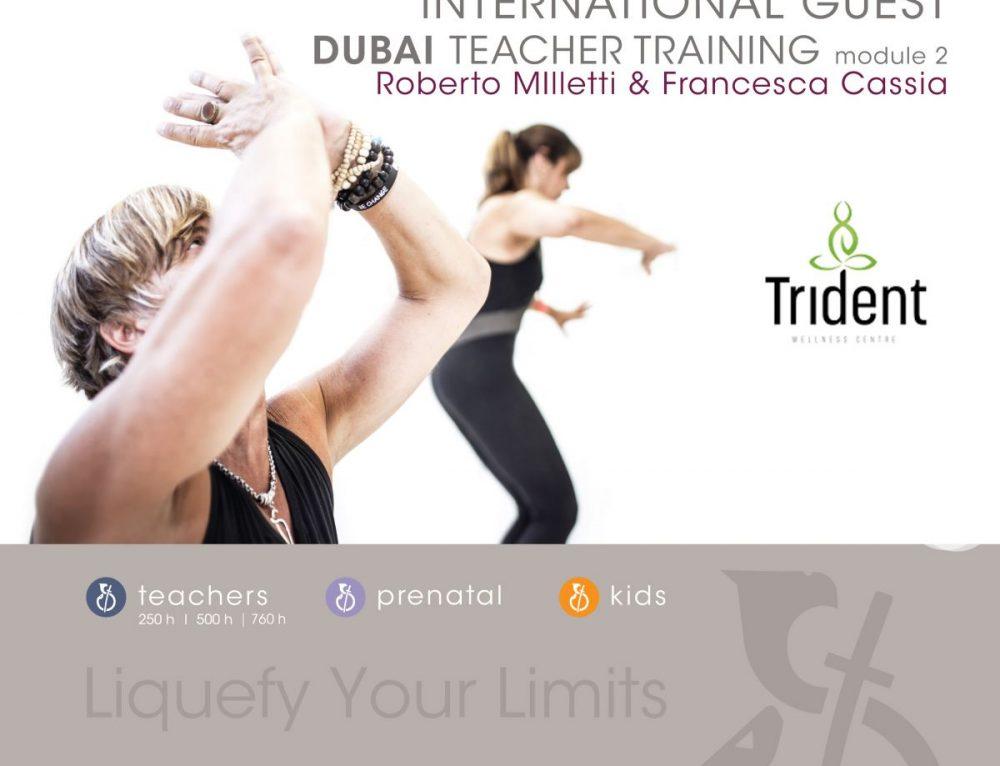 GUEST TEACHER TRAINING | TRIDENT WELLNESS CENTER DUBAI MARINA
