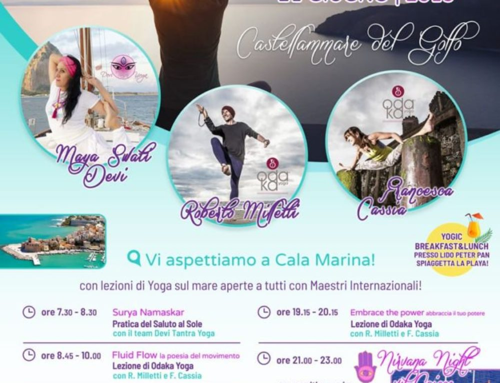 Trapani | International Yoga Day | 21 giugno, 2019