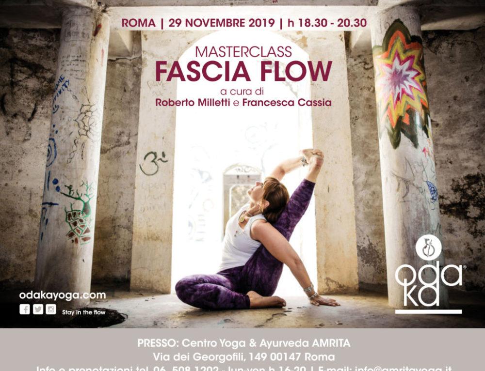 Rome – Italy | FASCIA FLOW | November 29, 2019